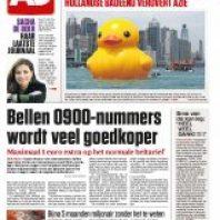 AD Algemeen Dagblad – 468 nummers voor â?¬ 312,00