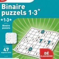 Denksport Binaire puzzels – 13 nummers voor â?¬ 28,30