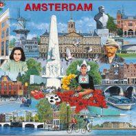 Larsen puzzel- Amsterdam toeristisch – KH11