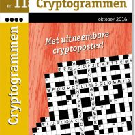 4 stippen Cryptogrammen – editie 5