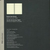 Moleskine Pro Workbook A4 Rul Black Hard