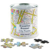 Brussel city puzzel magnetisch