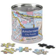 Amsterdam city puzzel magnetisch
