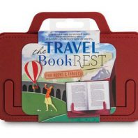 Travel Book Rest – Country Crimson