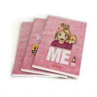 EMOJI GIRLS SCHRIFT A5 3-Pack 10X4,95 – BTS 18-19