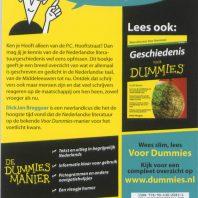 De kleine Nederlandse literatuur voor Dummies