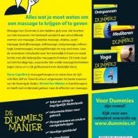 Massage voor Dummies, pocketeditie