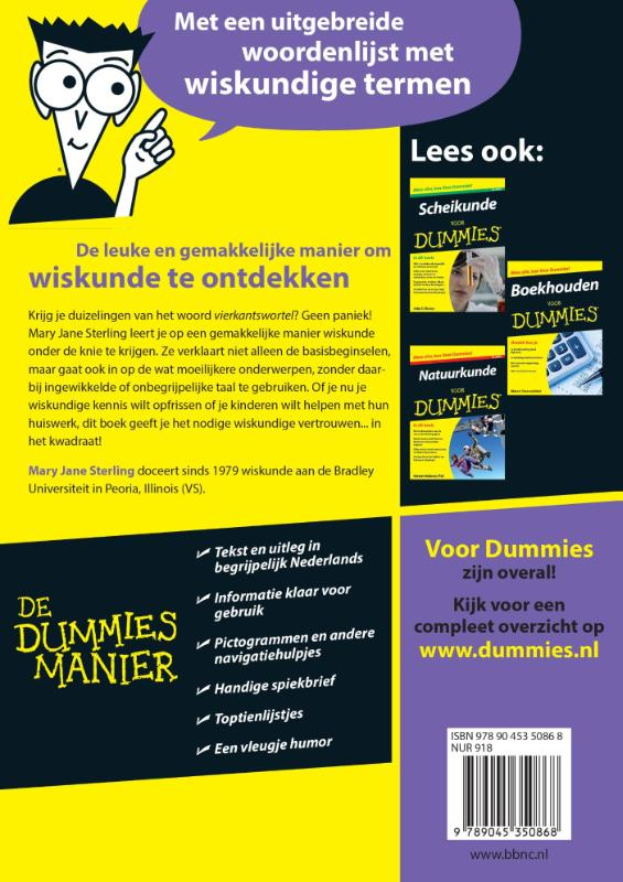 wiskunde for dummies