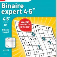 Binaire expert 4-5* – editie 81