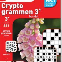Cryptogrammen 3* bundel – editie 331