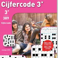 Cijfercode 3* – editie 389