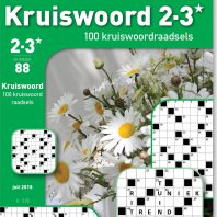 Kruiswoord 2-3* 100 raadsels – editie 88
