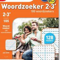 Woordzoekers 2-3* 100 puzzels – editie 105