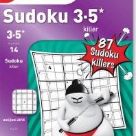 Sudoku 3-5* killer – editie 14