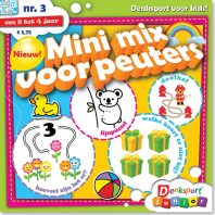 Mini Mix voor peuters – editie 3