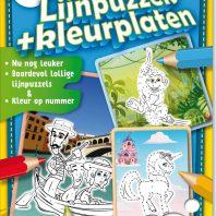 Lijnpuzzels + Kleurplaten – editie 17