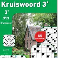 Kruiswoord 3* – editie 313