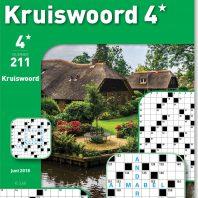 Kruiswoord 4* – editie 211