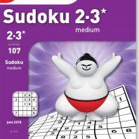 Sudoku 2-3* medium – editie 107