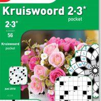 Kruiswoord 2-3* pocket – editie 56