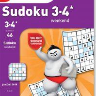Sudoku 3-4* weekend – editie 46