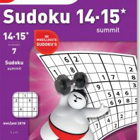 Sudoku 14-15* summit – editie 7
