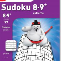 Sudoku 8-9* extreme – editie 97