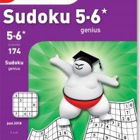 Sudoku 5-6* genius – editie 174
