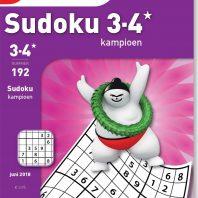 Sudoku 3-4* kampioen – editie 192