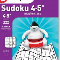 Sudoku 4-5* masterclass – editie 222