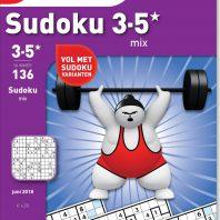 Sudoku 3-5* mix – editie 136