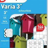 Varia 3* scheurblok – editie 11