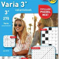 Varia 3* vakantieboek – editie 275
