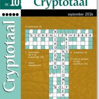 Cryptotaal – editie 5