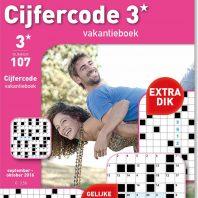 Cijfercode vakantieboek – editie 110