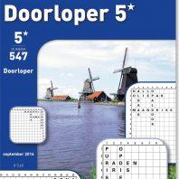 Doorloper 5 sterren – editie 555