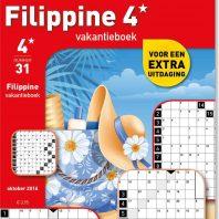Filippine 4 st vakantieboek – editie 38