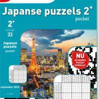 Japanse puzzels pocket – editie 39