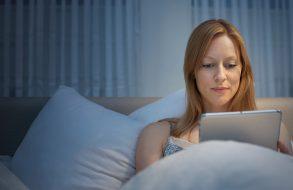 Is lezen voor het slapen gaan hot or not?