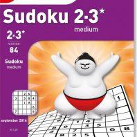 Sudoku medium – editie 92