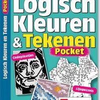 Pocket Logisch kleuren en tekenen – editie 1