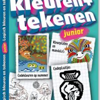 Logisch kleuren/tekenen junior – editie 9