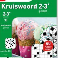 Kruiswoord pocket – editie 40