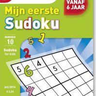Mijn eerste sudoku – editie 13