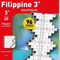 Filippine 3 st vakantieboek – editie 48