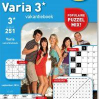 Varia vakantieboek – editie 258