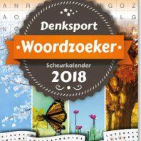 Woordzoeker scheurkalender – editie 2018